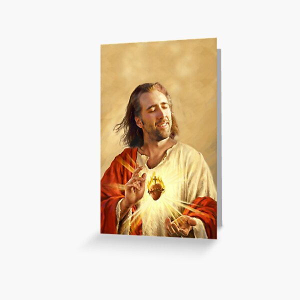 Sacred Caged Heart Greeting Card