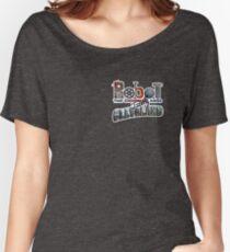 Robot Logo Main Women's Relaxed Fit T-Shirt