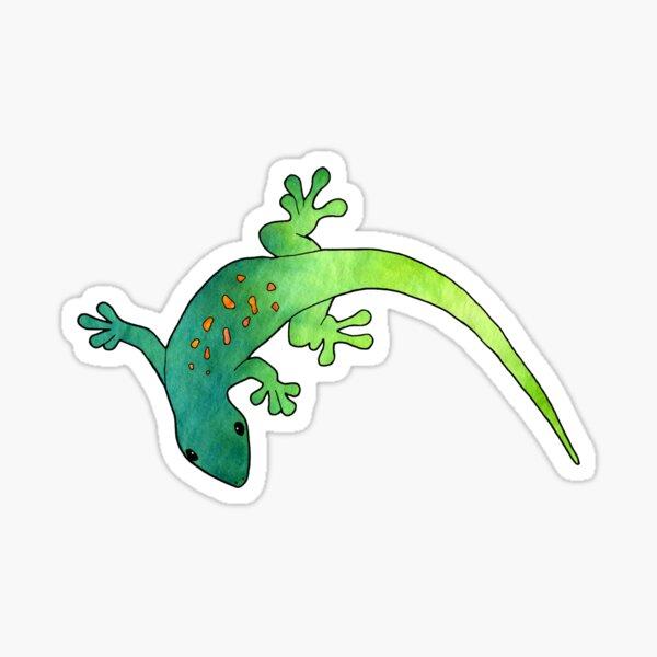 Gecky der Gecko Sticker
