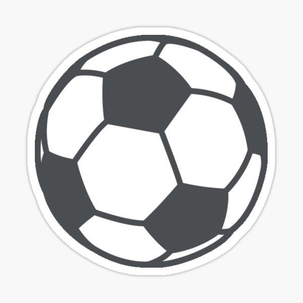 Fútbol (fútbol) Emoji Pegatina