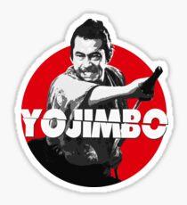 Yojimbo - Toshiro Mifune Sticker