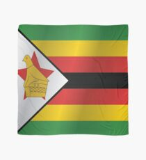 Simbabwe Flagge Tuch