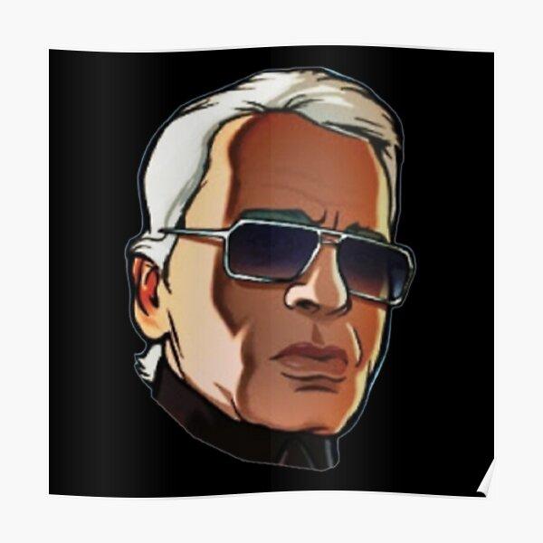 T-shirt Karl Lagerfeld Poster