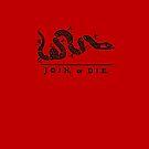 Wolfpack Join Or Die by D & M MORGAN