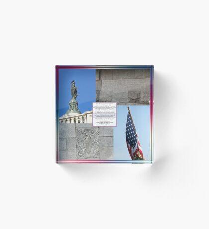 Sacrifice for Freedom Acrylic Block