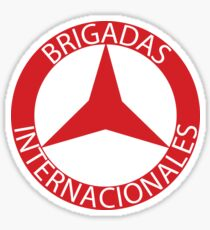Brigadas Internacionales Sticker