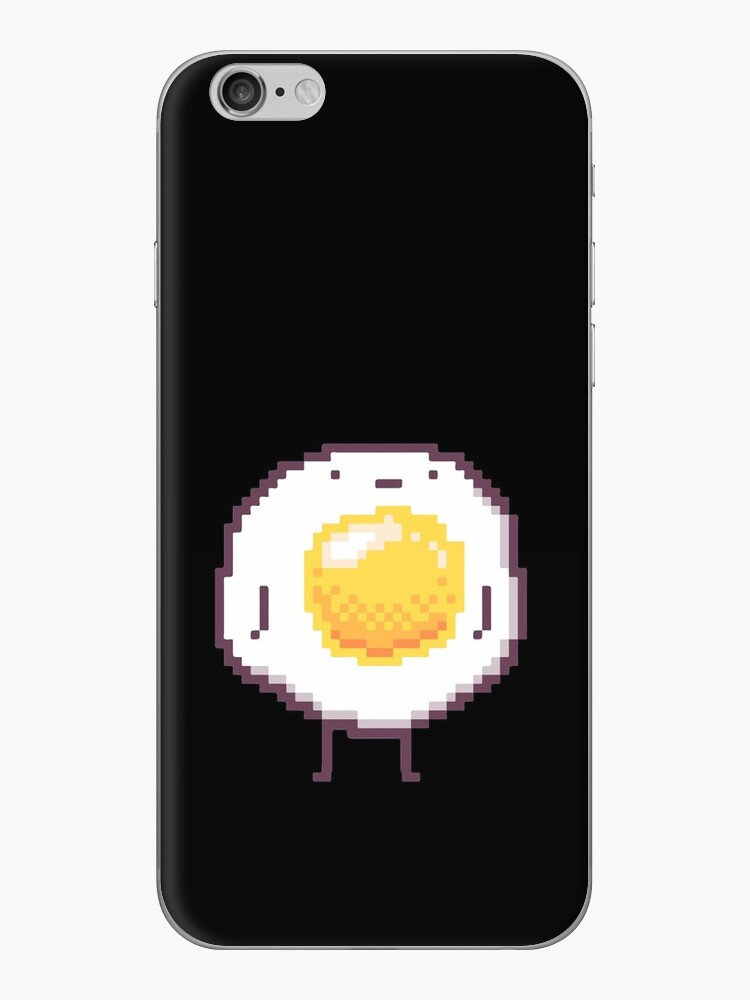 Standing Egg Pixel  by zachsymartsy