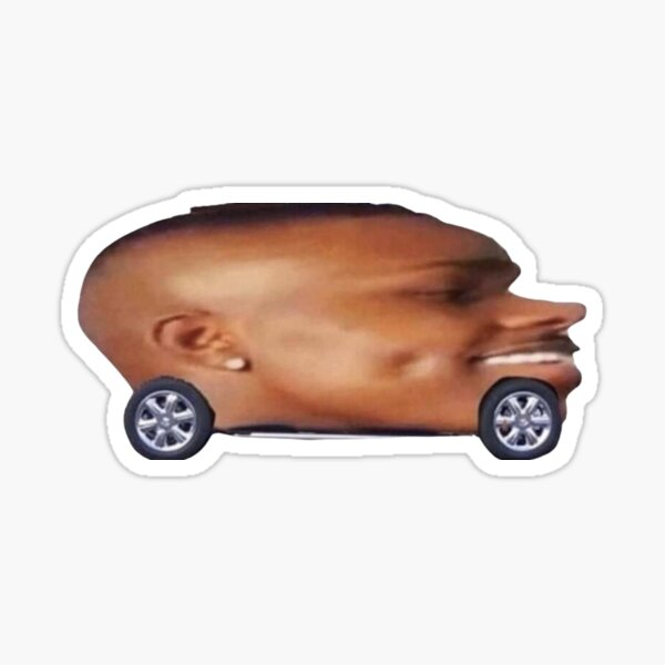 da baby car Sticker