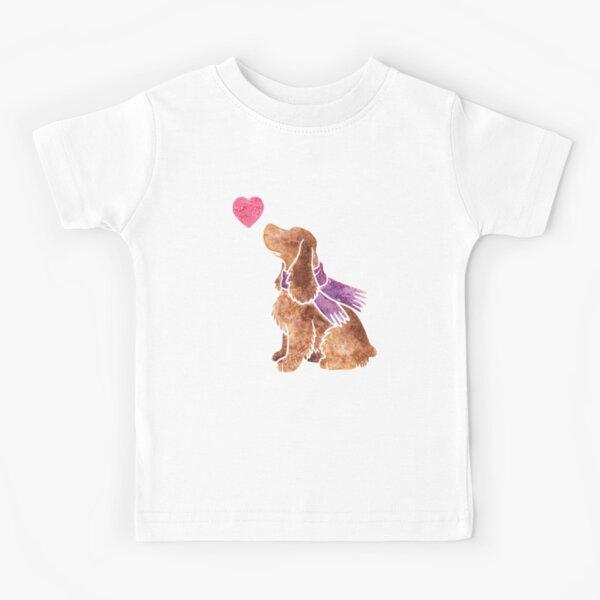 Watercolour spaniel Kids T-Shirt