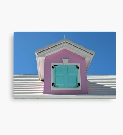 Marina Village at Paradise Island in The Bahamas Canvas Print
