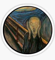 The Scream Sticker