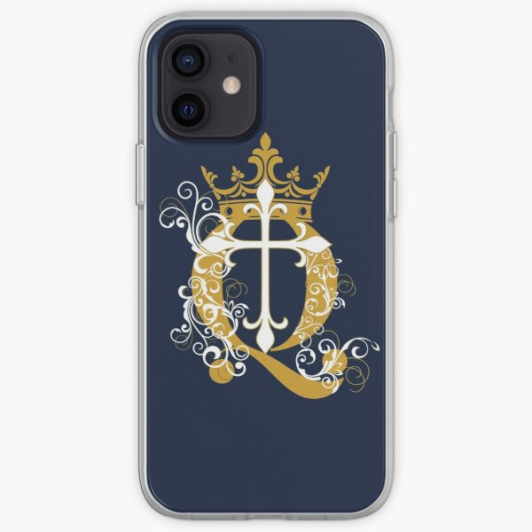 Cross Q Crown in Gold iPhone Soft Case
