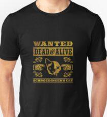 Schrödingers Katze - Schroedinger's Cat, distressed T-Shirt