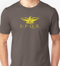 Senatus Populusque Romanus SPQR Roman Eagle T-Shirt