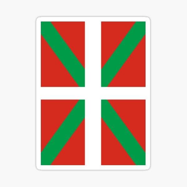 Bandera de Euskadi Pegatina