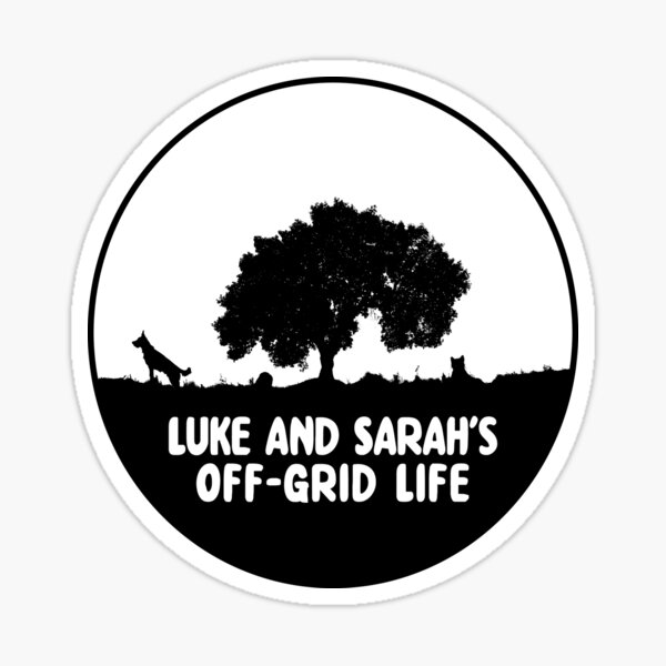 Our YT channel logo Sticker