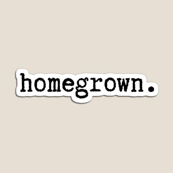 Homegrown | Black Typewriter Magnet