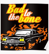 Plymouth Fury - Bad to the bone Poster