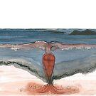 « Sirène rouge » par Julie Barranger