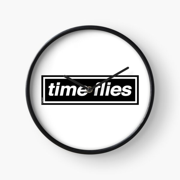 Time Flies - [THE ORIGINAL & BEST!] OASIS Band Tribute - MADE IN THE 90s Clock