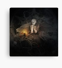 I of The Mourning Canvas Print
