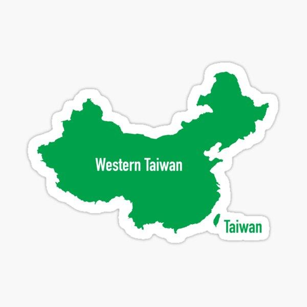 Western Taiwan Sticker
