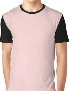 Soft Lights Connection Design (Rose Quartz Color) Graphic T-Shirt