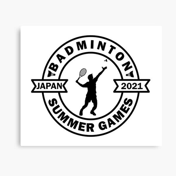 Olympic Badminton Japan 2021 Canvas Print