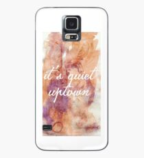It's quiet uptown - Hamilton Case/Skin for Samsung Galaxy