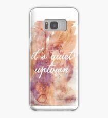 It's quiet uptown - Hamilton Samsung Galaxy Case/Skin