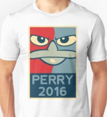 Perry the Platypus For President 2016 Unisex T-Shirt