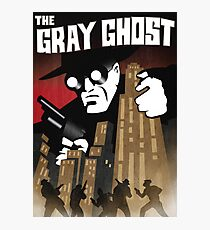 The Gray Ghost Photographic Print