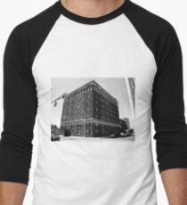 Burlington, North Carolina - Main Street Men's Baseball ¾ T-Shirt