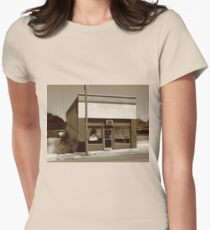 Burlington, North Carolina - Small Town Business Womens Fitted T-Shirt