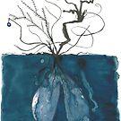 « Branches brûlées » par Julie Barranger