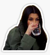 Kourtney Kardashian Sips Tea* Sticker