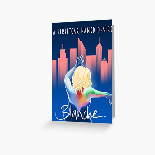 Blanche - NYC Greeting Card