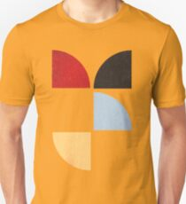 Abstract Quarters T-Shirt