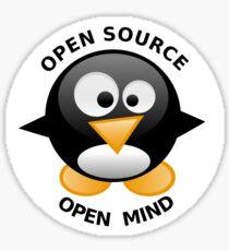 Open Source Open Mind Sticker