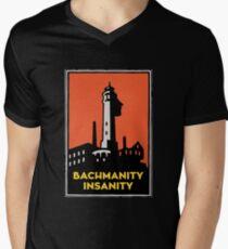 Alcatraz Bachmanity Insanity - Silicon Valley Men's V-Neck T-Shirt