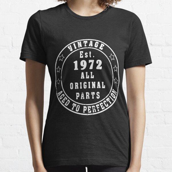 49th Birthday Gift Vintage 1972 Shirt Gift for 49th Birthday 49 Years Old Shirt Turning 49 Tshirt Funny Tshirt Gift idea  Essential T-Shirt