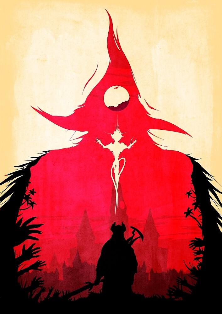 BLOODBORNE - Double Exposure  by GameAlchemist