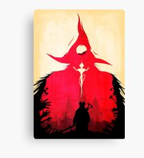 BLOODBORNE - Double Exposure  Canvas Print