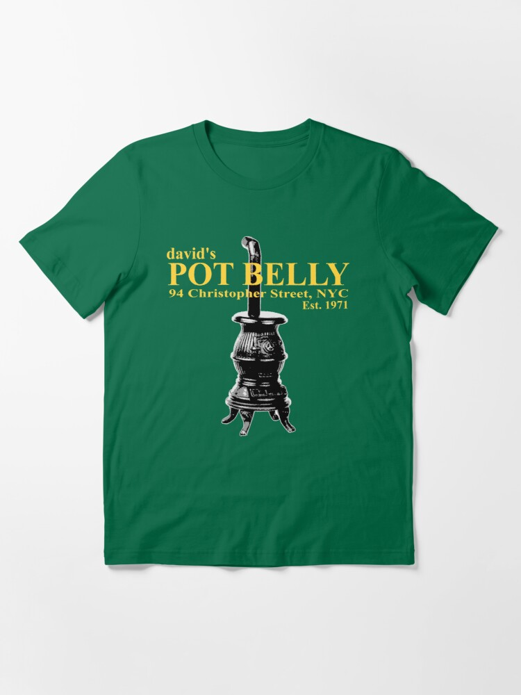 Alternate view of David's Pot Belly Stove Essential T-Shirt