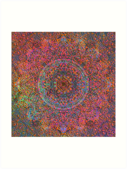 Magic 28 mandala by JBJart