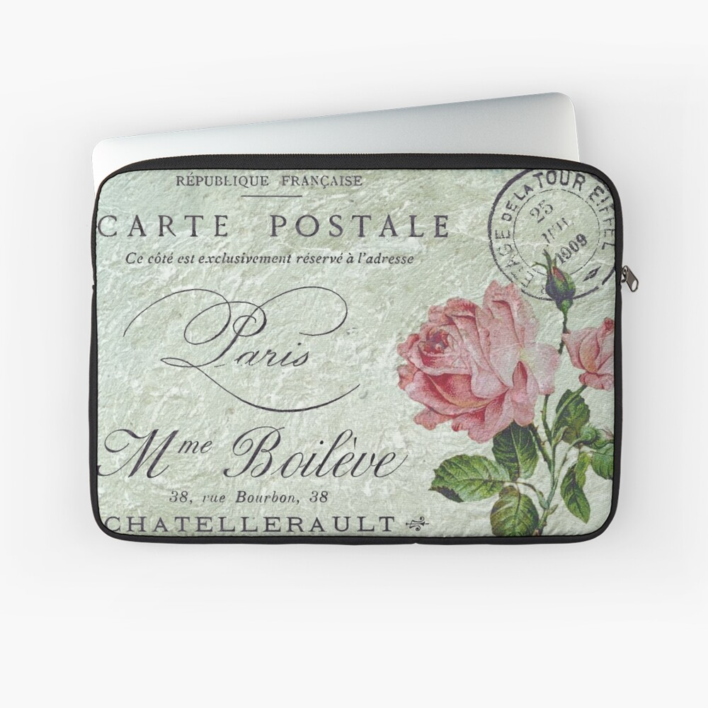 Petite Rose Confection Laptop Sleeve
