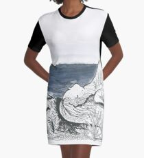 Woman landscape  Graphic T-Shirt Dress