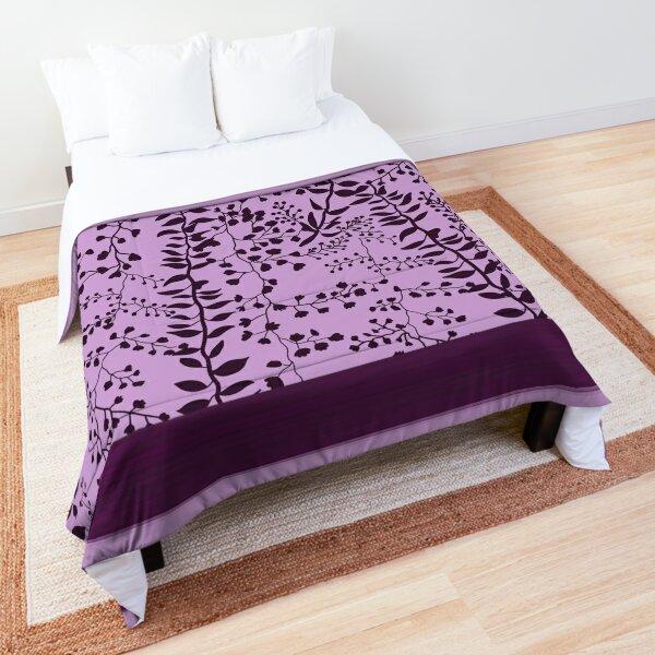 Bella Swan Lavender Freesia Comforter