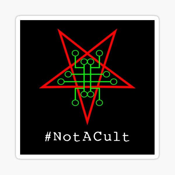 Not A Cult v1 Sticker