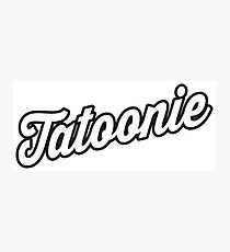 Tatoonie Photographic Print